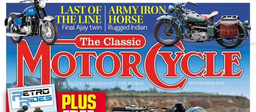 The Classic Motorcycle September cover