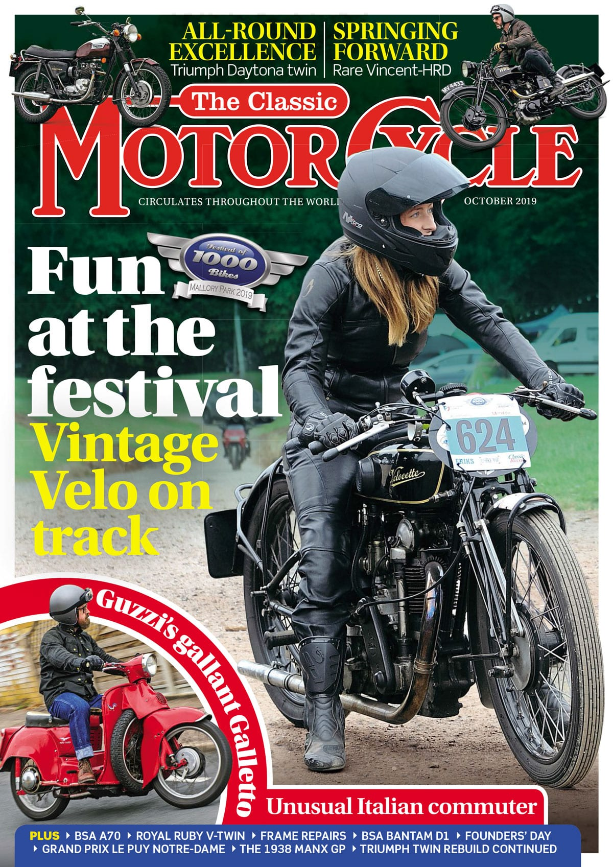 The Classic Motorcycle magazine cover.