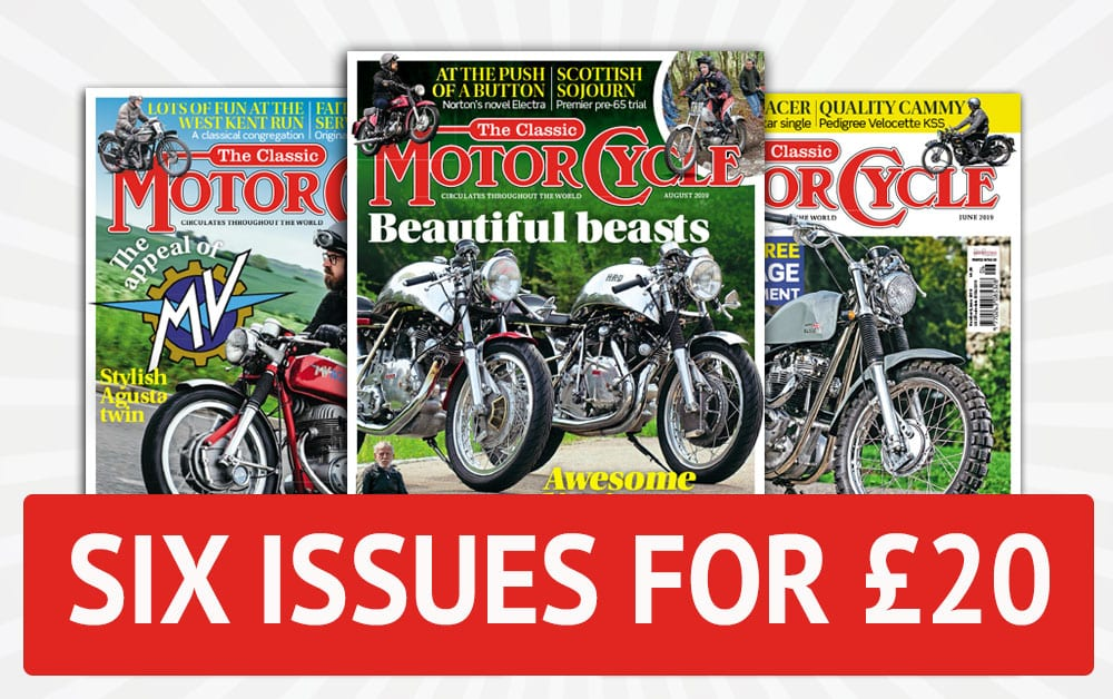 Six issues for £20 TCM sub offer
