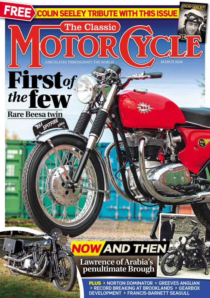 The Classic Motorcycle cover